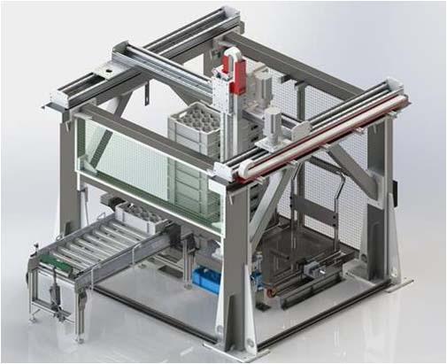 淮安自動化流水線產品--堆垛機械手