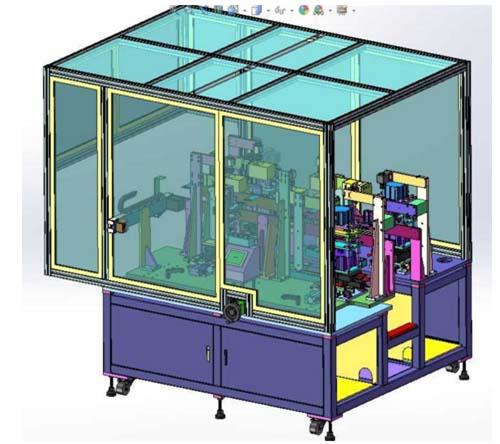 江蘇金屬成型設備-手機FFC軟性排線沖裁機